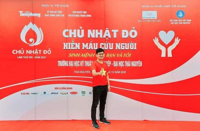 Đại học Thái Nguyên khởi động chương trình Chủ nhật Đỏ lần thứ XIII năm 2021 ảnh 1