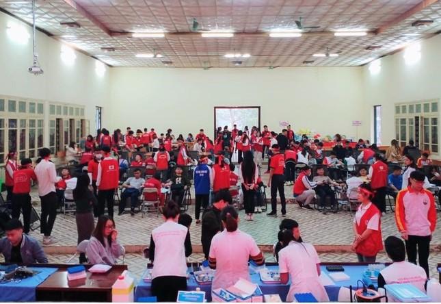 Đại học Thái Nguyên khởi động chương trình Chủ nhật Đỏ lần thứ XIII năm 2021 ảnh 2
