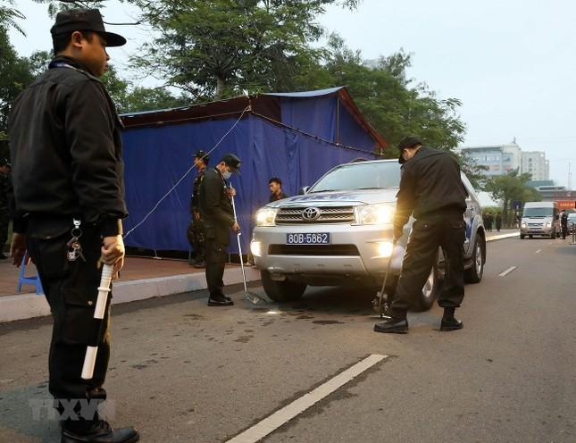 Nhìn gần công tác an ninh, an toàn Đại hội XIII của Đảng ảnh 3