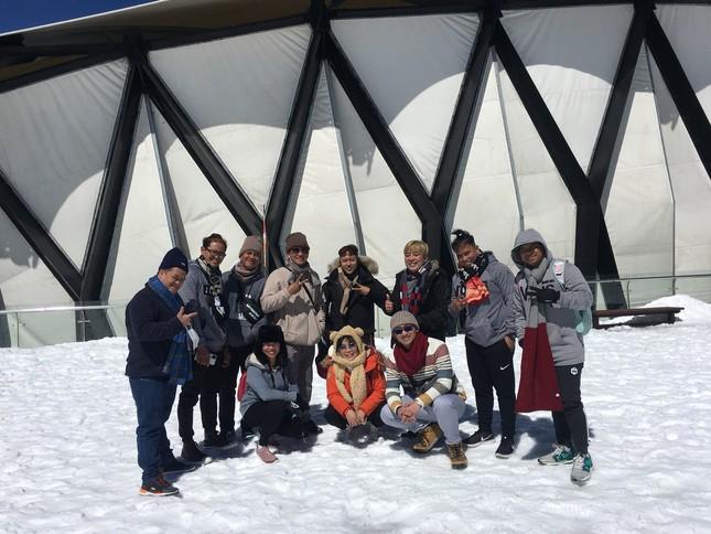 30 Tết vẫn chen chân lên nóc nhà Đông Dương ngắm tuyết ảnh 4