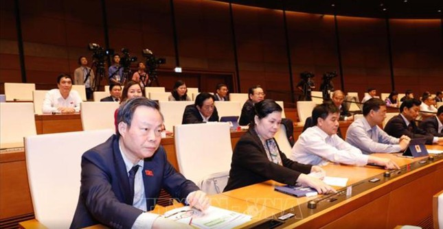 Hình ảnh quy trình miễn nhiệm Chủ tịch Quốc hội Nguyễn Thị Kim Ngân ảnh 4