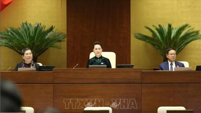 Hình ảnh quy trình miễn nhiệm Chủ tịch Quốc hội Nguyễn Thị Kim Ngân ảnh 7