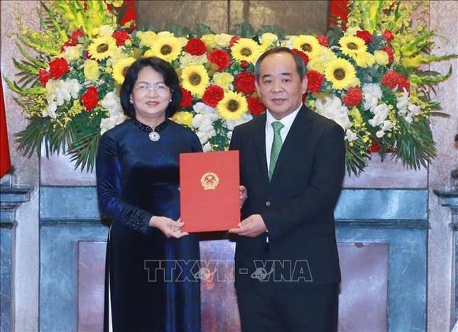 Trao quyết định bổ nhiệm ông Lê Khánh Hải làm Chủ nhiệm Văn phòng Chủ tịch nước ảnh 1