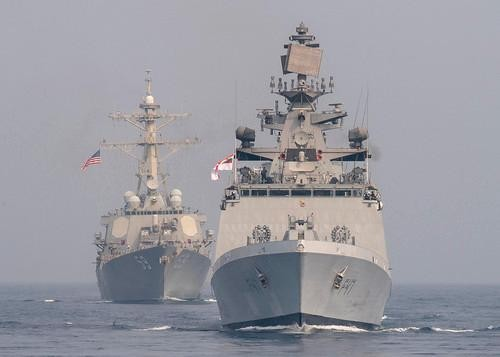Mỹ-Ấn Độ tập trận chung trên Ấn Độ Dương ảnh 2