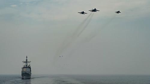 Mỹ-Ấn Độ tập trận chung trên Ấn Độ Dương ảnh 3