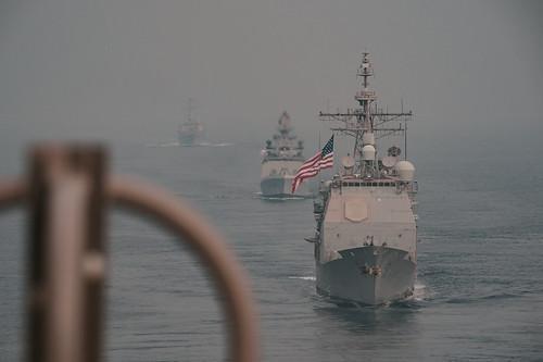 Mỹ-Ấn Độ tập trận chung trên Ấn Độ Dương ảnh 4