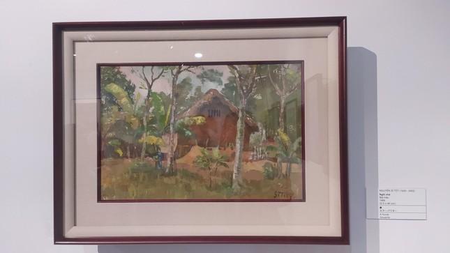 Một nhà sưu tập người Nhật tặng Đà Nẵng 238 bức tranh của các họa sĩ nổi tiếng Việt Nam ảnh 4