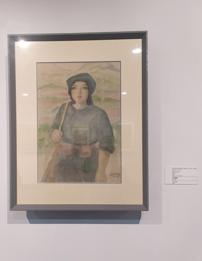 Một nhà sưu tập người Nhật tặng Đà Nẵng 238 bức tranh của các họa sĩ nổi tiếng Việt Nam ảnh 5