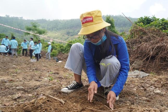 Sinh viên Đà Nẵng trồng cây xanh gây dựng Công viên khoa học ảnh 3