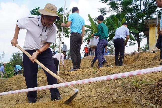 Sinh viên Đà Nẵng trồng cây xanh gây dựng Công viên khoa học ảnh 4
