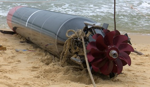 Phát hiện ngư lôi dài gần 7 mét trôi dạt trên biển Phú Yên ảnh 3