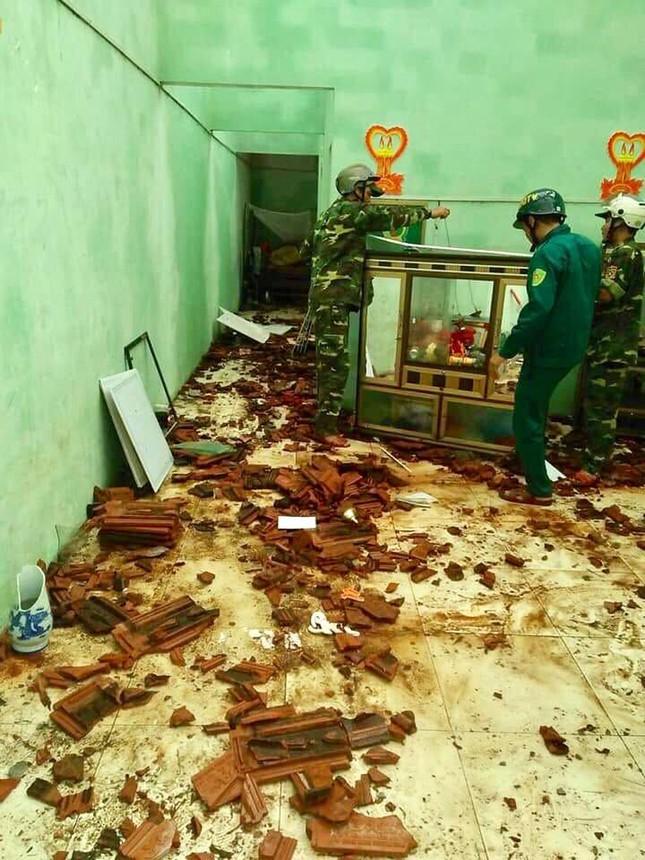 Sau bão số 5: Quảng Ngãi hư hại hơn 400 nhà, sóng đánh sập kè ở Bình Định ảnh 5