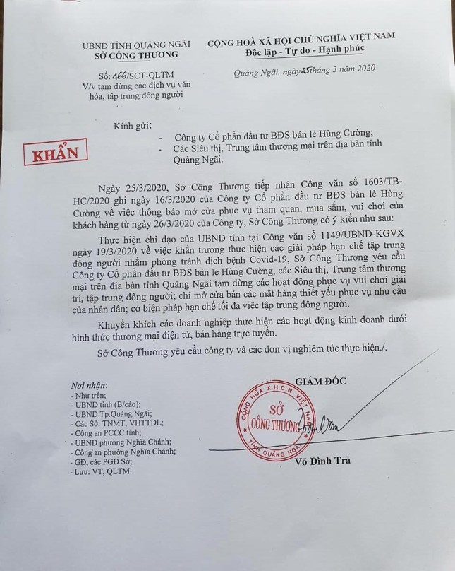Buộc siêu thị ở Quảng Ngãi tạm dừng sau một ngày khai trương rầm rộ ảnh 3