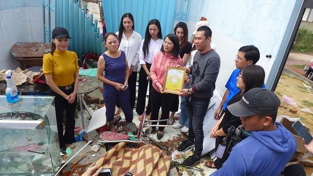 Ban Tổ chức Hoa hậu Việt Nam, báo Tiền Phong mang 'Mái ấm tình thương' đến Quảng Ngãi ảnh 12