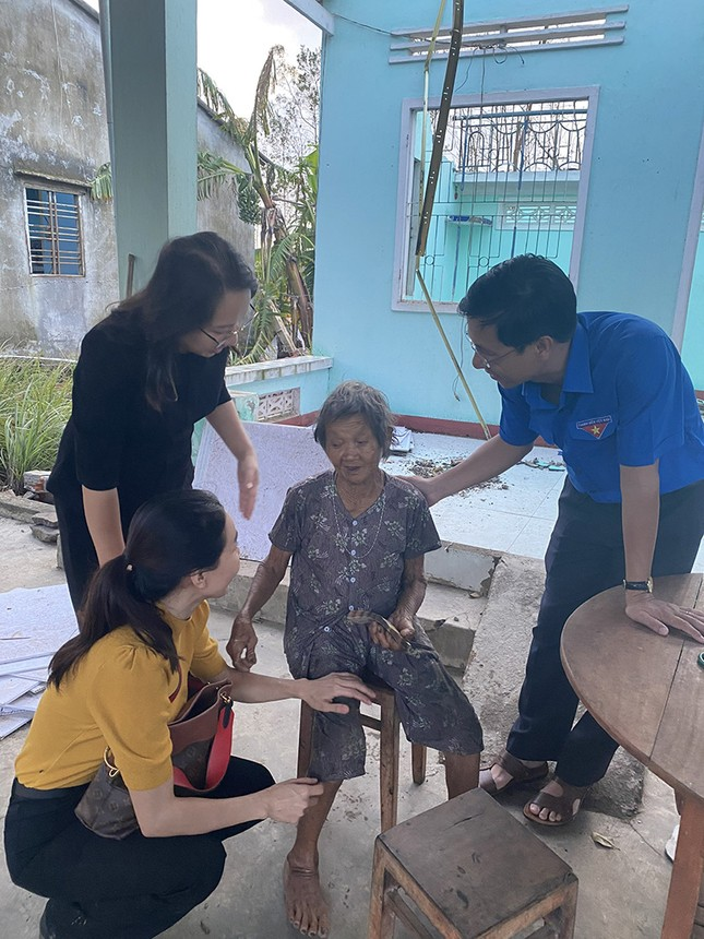 Ban Tổ chức Hoa hậu Việt Nam, báo Tiền Phong mang 'Mái ấm tình thương' đến Quảng Ngãi ảnh 4