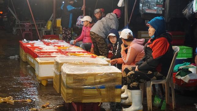 Trắng đêm mưu sinh giữa giá rét ở cảng cá lớn nhất miền Trung ảnh 7