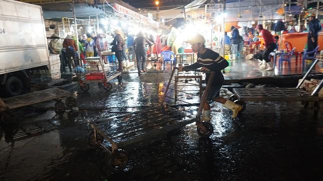 Trắng đêm mưu sinh giữa giá rét ở cảng cá lớn nhất miền Trung ảnh 8
