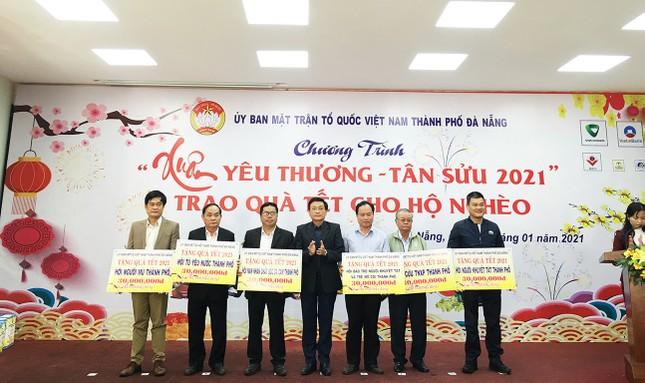 10.672 suất quà Tết cho người nghèo Đà Nẵng ảnh 1