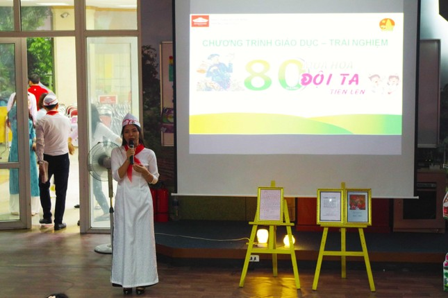 80 mùa hoa - Đội ta tiến lên: Chương trình giáo dục trải nghiệm cho học sinh tiểu học ảnh 8
