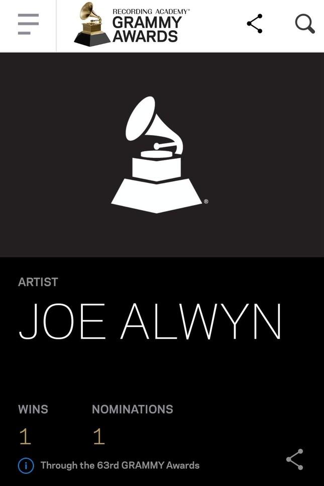 Bạn trai Taylor Swift được công nhận đoạt giải Grammys: Một kèn vàng, hai người vui ảnh 1
