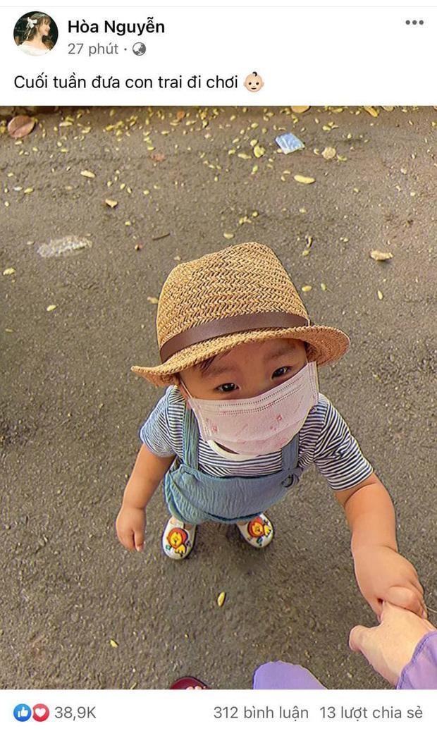 Đàm Thu Trang khoe ảnh con gái lúc mới sinh, Hòa Minzy bày tỏ lý do giấu diện mạo con trai ảnh 6