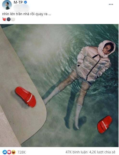 """Sơn Tùng M-TP tiếp tục đăng ảnh """"lạc trôi"""" lúc nửa đêm, liệu có phải """"hint"""" MV mới?  ảnh 1"""