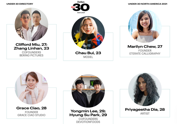 """Châu Bùi khiến fan tự hào vì được góp tên trong danh sách """"30 Under 30 Asia"""" của Forbes ảnh 2"""