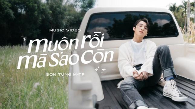 """Sơn Tùng M-TP """"thả xích"""" MV """"Muộn Rồi Mà Sao Còn"""" 7 phút đạt 1 triệu lượt xem ảnh 1"""