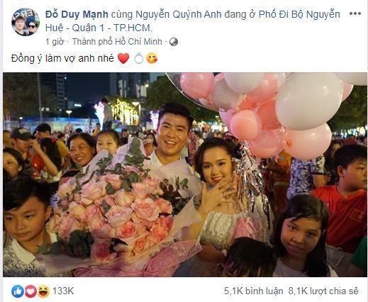 """Trước tin đồn """"đi đường quyền"""" với Quỳnh Anh, Duy Mạnh là chàng trai lãng mạn có thừa ảnh 7"""