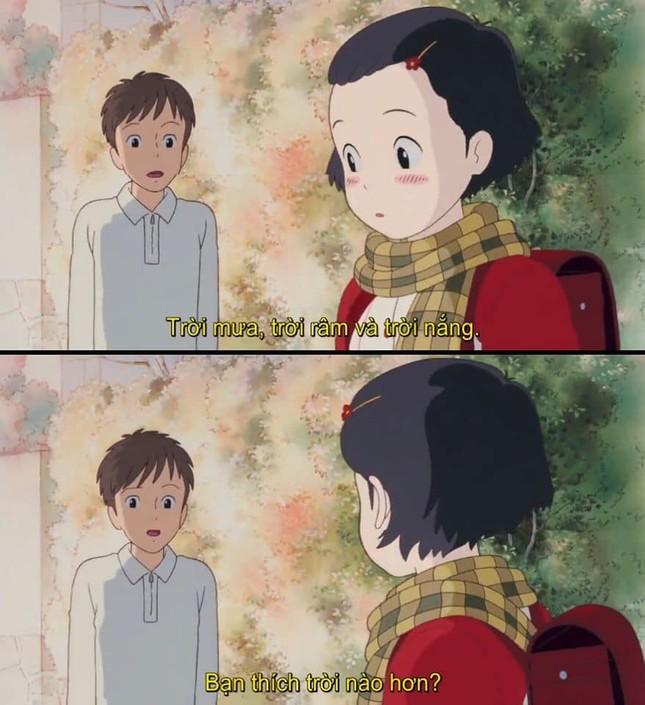 """Phát hiện vui: """"Thả thính"""" không trượt phát nào, chỉ có thể là nam chính nhà Ghibli! ảnh 2"""
