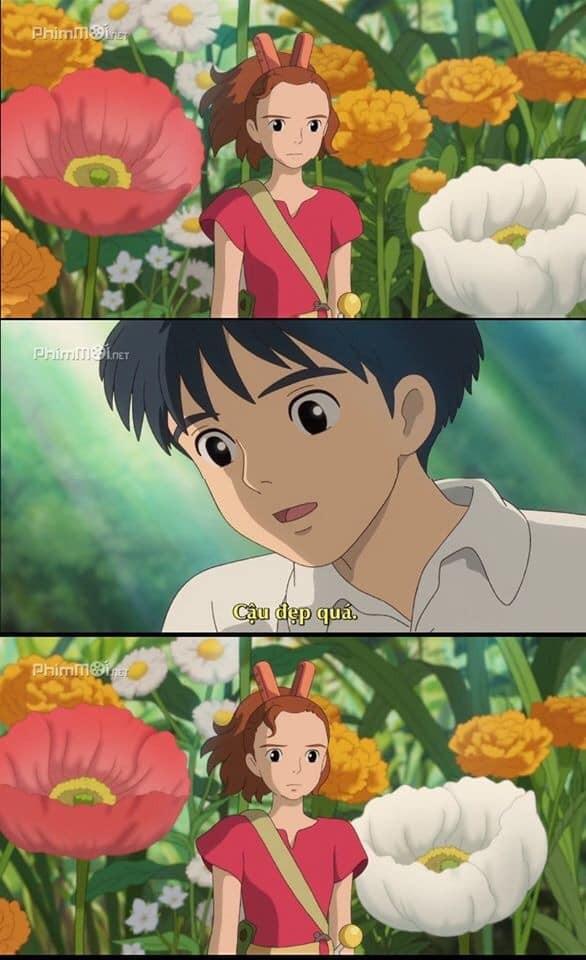 """Phát hiện vui: """"Thả thính"""" không trượt phát nào, chỉ có thể là nam chính nhà Ghibli! ảnh 3"""
