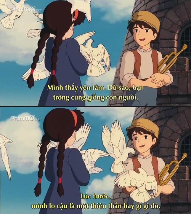 """Phát hiện vui: """"Thả thính"""" không trượt phát nào, chỉ có thể là nam chính nhà Ghibli! ảnh 4"""