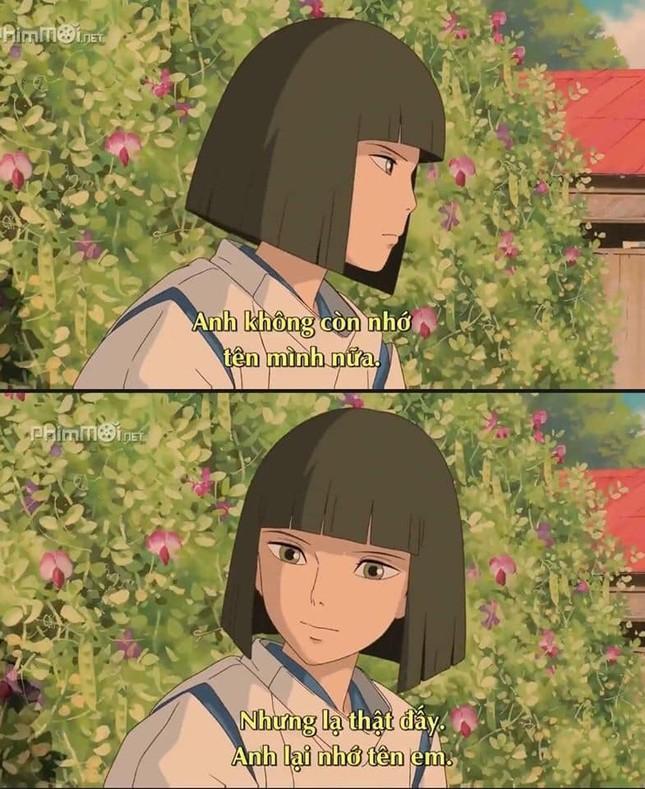 """Phát hiện vui: """"Thả thính"""" không trượt phát nào, chỉ có thể là nam chính nhà Ghibli! ảnh 7"""