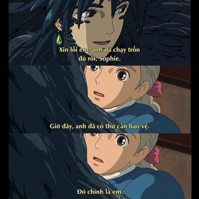"""Phát hiện vui: """"Thả thính"""" không trượt phát nào, chỉ có thể là nam chính nhà Ghibli! ảnh 8"""