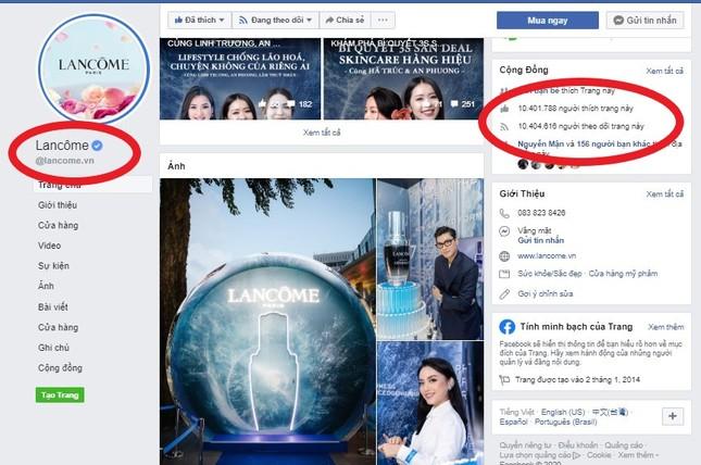 Lancôme khẳng định chương trình sale sốc 75% đang quảng cáo tràn lan trên MXH là giả mạo ảnh 2