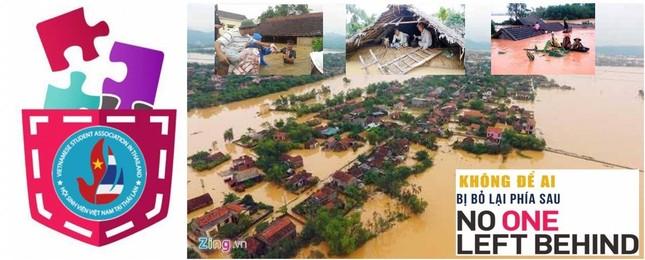 """Du học sinh khắp nơi quyên góp gửi đồng bào lũ lụt miền Trung: Những con số """"biết nói"""" ảnh 3"""