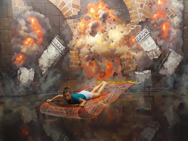 """Bảo tàng tranh 3D lớn nhất Sài Gòn: """"Sống ảo"""" vừa đẹp vừa độc lạ, nhất định không thể bỏ qua! ảnh 5"""