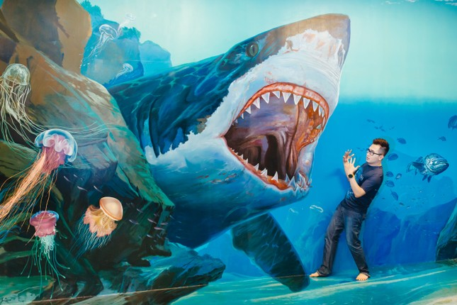 """Bảo tàng tranh 3D lớn nhất Sài Gòn: """"Sống ảo"""" vừa đẹp vừa độc lạ, nhất định không thể bỏ qua! ảnh 1"""