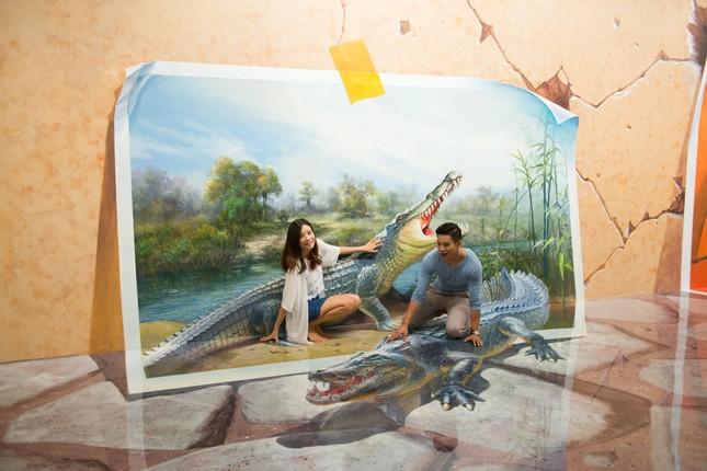 """Bảo tàng tranh 3D lớn nhất Sài Gòn: """"Sống ảo"""" vừa đẹp vừa độc lạ, nhất định không thể bỏ qua! ảnh 2"""