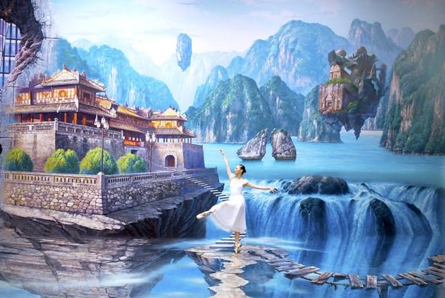"""Bảo tàng tranh 3D lớn nhất Sài Gòn: """"Sống ảo"""" vừa đẹp vừa độc lạ, nhất định không thể bỏ qua! ảnh 4"""