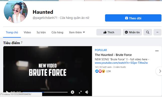 """Người dùng mạng Việt """"hô biến"""" Facebook của ban nhạc Thụy Điển thành trang bán quần áo ảnh 3"""