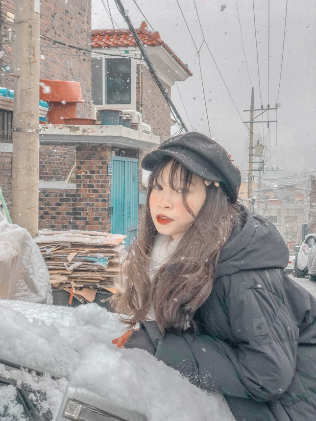 """Cô bạn Việt Nam kể chuyện đời sống du học sinh Hàn Quốc qua loạt vlog """"kẹo ngọt"""" ảnh 4"""