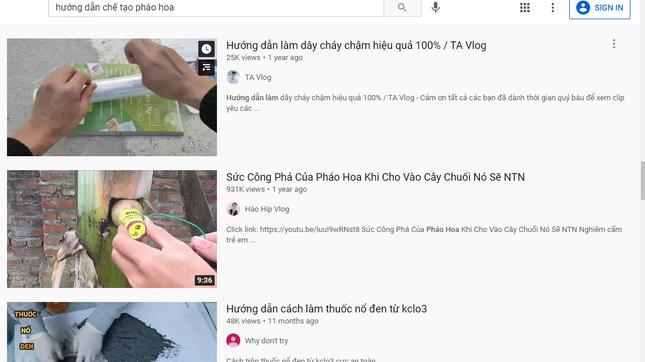 Hết mua pháo trên mạng lại học YouTube tự chế pháo, nhiều bạn trẻ vào viện hoặc bị phạt nặng ảnh 3