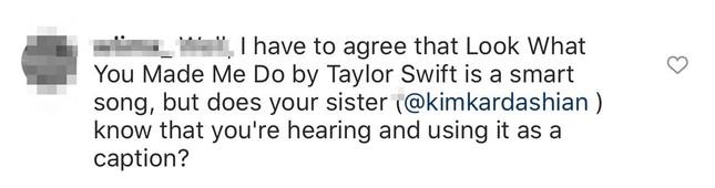 """Netizen nghi chị em Kardashian """"lục đục nội bộ"""" khi em gái """"quay lưng"""" đi làm Swifties? ảnh 4"""