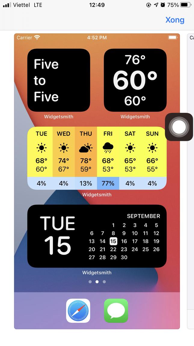 """Để màn hình iPhone """"chất như nước cất"""": Khám phá ngay 6 app biến đổi giao diện kỳ ảo này ảnh 2"""