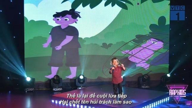 """""""Rap Kids"""" gây tranh cãi vì câu từ nhạy cảm trên fanpage và trong phần thi của thí sinh ảnh 4"""