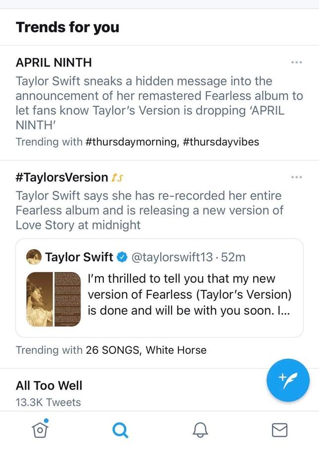 """Taylor Swift thông báo ra album mới: Swifties Việt bối rối vì sắp phải """"chia tay"""" tiền lì xì! ảnh 4"""