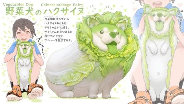 Khi các loài động vật hóa thành... rau củ thì sẽ trông như thế nào nhỉ? ảnh 2