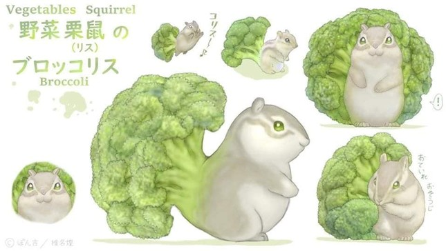 Khi các loài động vật hóa thành... rau củ thì sẽ trông như thế nào nhỉ? ảnh 7