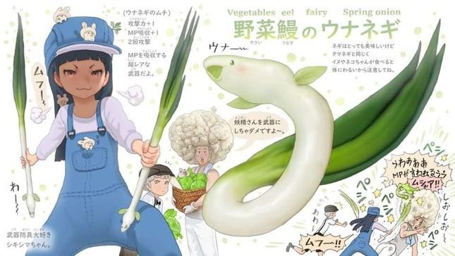Khi các loài động vật hóa thành... rau củ thì sẽ trông như thế nào nhỉ? ảnh 9
